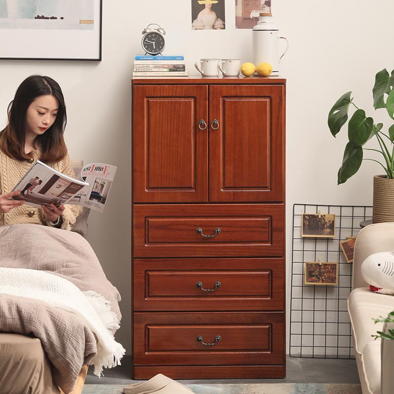 斗柜实木卧室特价五斗橱客厅柜子储物柜简约现代抽屉式整装收纳柜