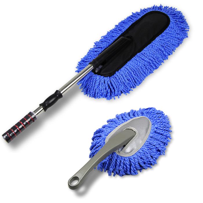 洗车刷子除尘掸子车用汽车擦车拖把神器刷车专用工具软毛扫灰用品