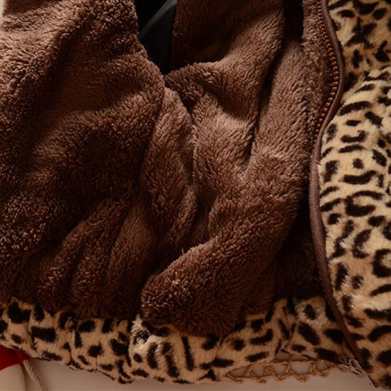 宝宝冬季棉衣外套0-1一3-5岁 婴儿加厚加绒冬装棉袄服女童毛毛衣