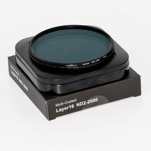 Greenl格林尔 可调nd2-2000减光镜 49 52 67 72 77 82mm 中灰镜单反nd滤镜 适用相机佳能索尼镜头摄影