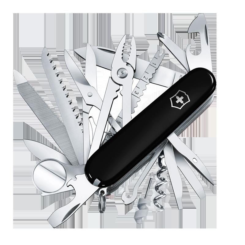 维氏瑞士军刀 91MM瑞士刀1.6795.3户外多功能折叠刀具 原装正品