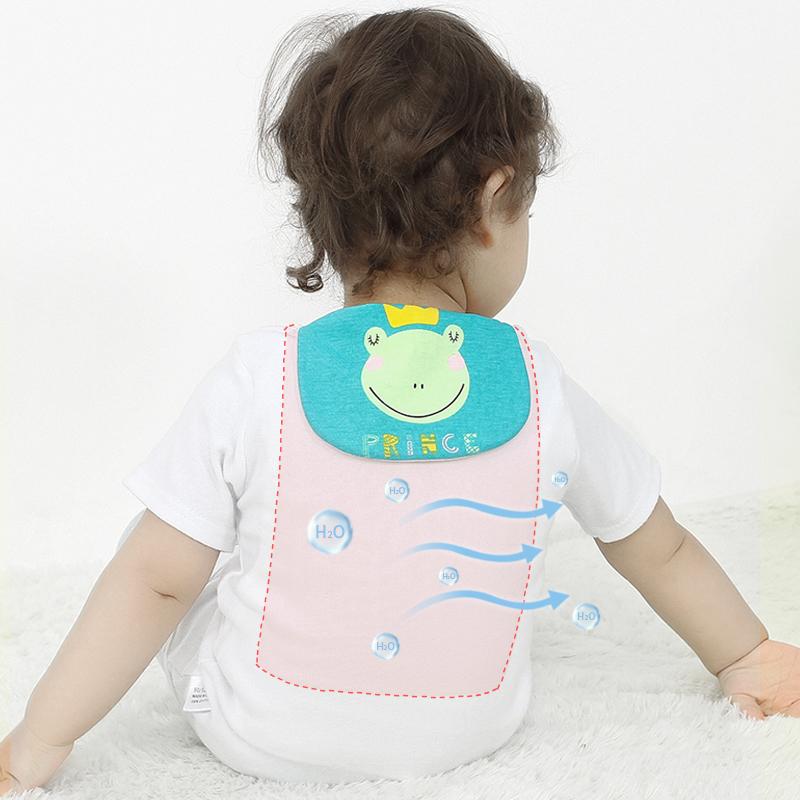 岁全棉垫背巾 6 4 3 1 0 宝宝吸汗巾纯棉婴儿童隔汗巾幼儿园中大童
