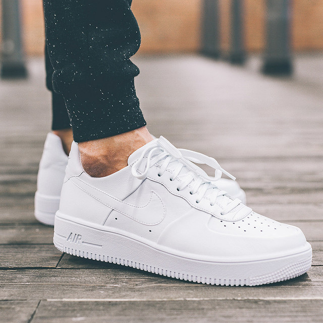 Nike Air Force1 Af1 Air Force One Pure White Men S And Women S Low