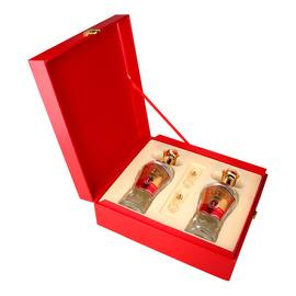 五粮液股份五粮国宾酒醇品52度500mL*2瓶浓香型白酒礼盒装礼品酒