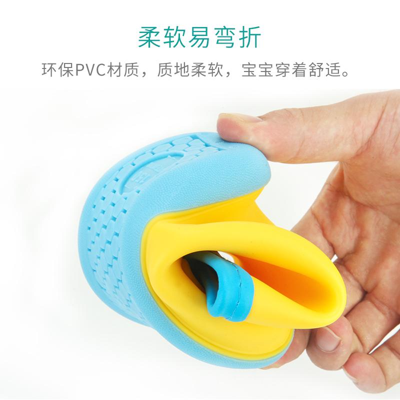 日本儿童雨鞋男童女童宝宝雨靴小童水鞋小孩幼儿防滑水靴胶鞋轻便