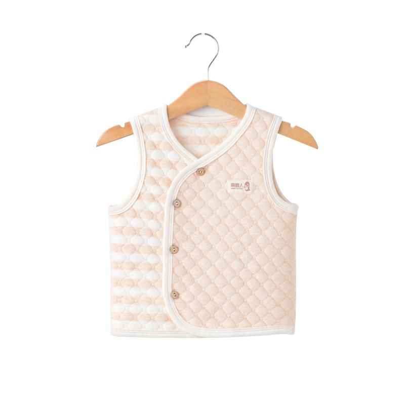 婴儿背心宝宝马甲男女春秋薄款洋气潮儿童外穿保暖婴幼儿纯棉马夹