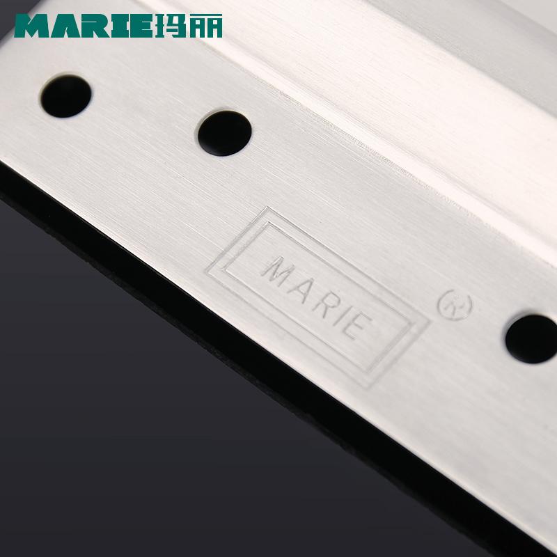 玛丽不锈钢弹簧合页自由门双向弹簧铰链闭门器合页 6寸 一只装