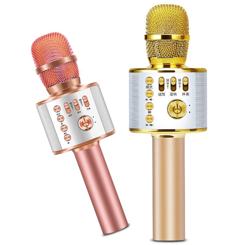 金运 麦克风话筒一体全民神器k歌手机无线蓝牙家用唱歌专用自带音响卡拉ok家庭ktv套装多功能专业小音箱车载