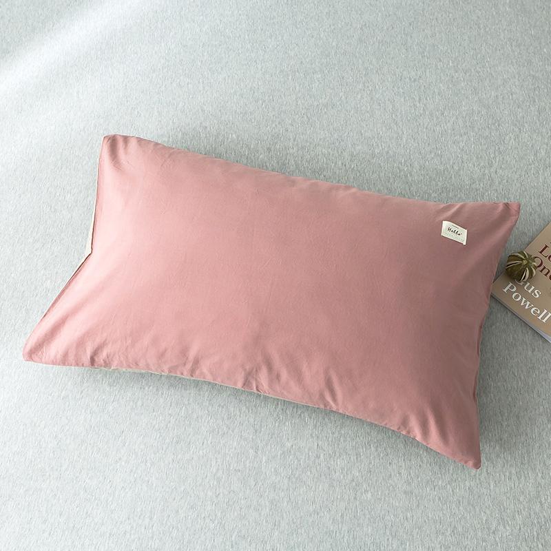南极人全棉枕套一对装纯棉水洗棉成人枕芯套学生单人女宿舍枕头罩
