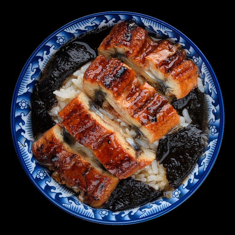 绝世活鳗制作日式蒲烧鳗鱼437g烤鳗鱼饭日本寿司即食海鲜鳗鱼