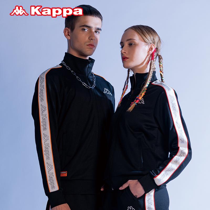 Kappa卡帕男女运动开衫卫衣字母外套立领上衣卫裤套装K0952WK01A