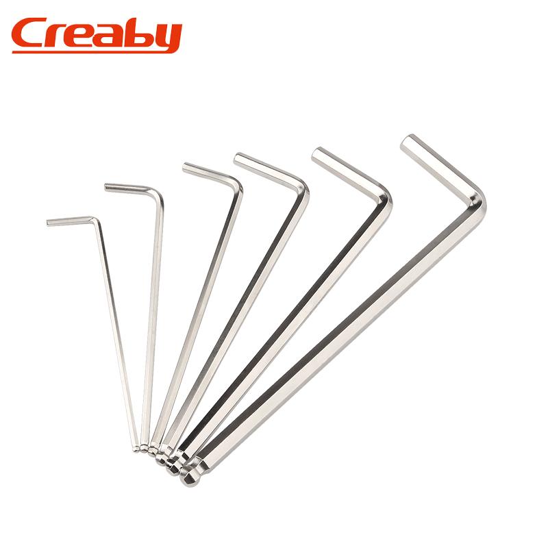 L型内六角扳手单个发黑六棱六角螺丝刀内六方0.7-1.5-2-3-8-10mm