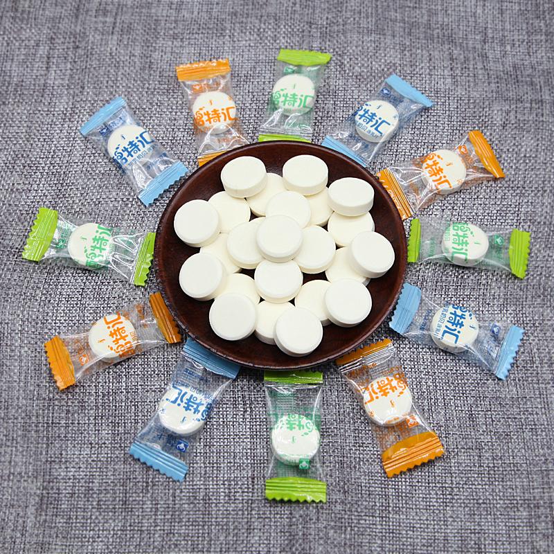 奶贝包邮 内蒙特产 保牛独立干吃奶片500g 无蔗糖/含牛初乳/羊乳