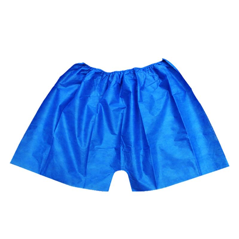 一次性短裤美容院男女通用汗蒸内裤男士平角按摩桑拿浴裤子无纺布