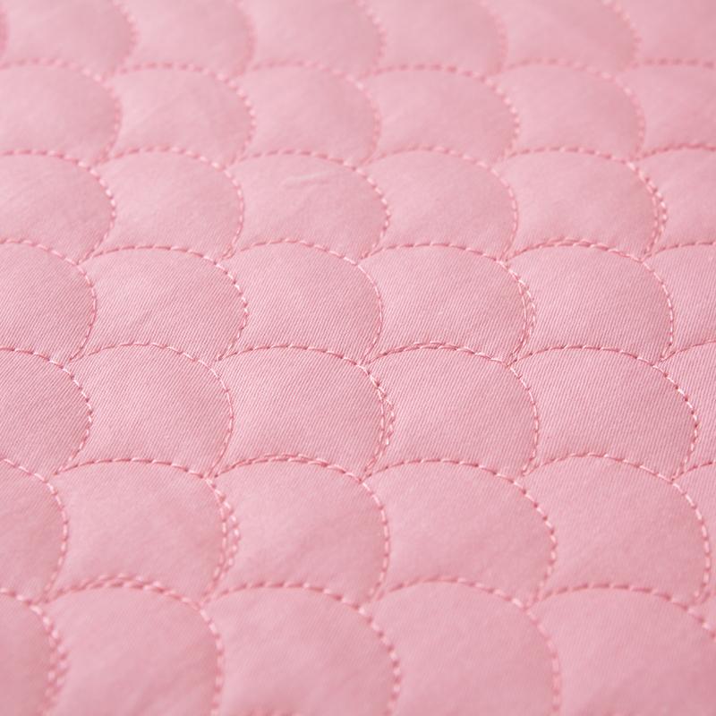 全棉蕾丝边床裙式单件纯棉加厚夹棉床套防滑床单床罩1.5m1.8米床