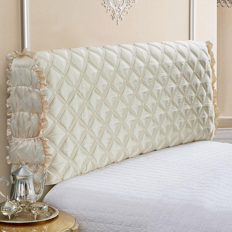 米床保护套 1.8 全包布艺床头罩软包床头套简约现代欧式皮床防尘罩
