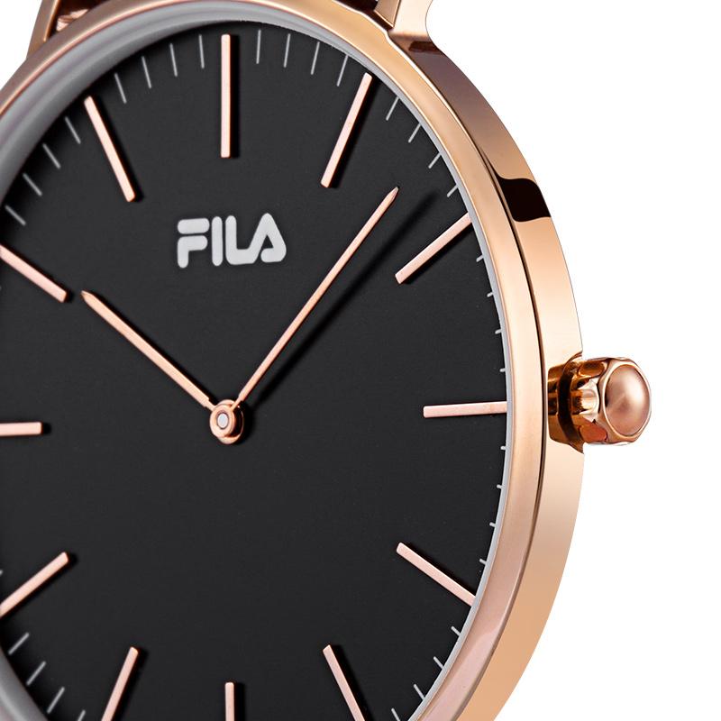 778 斐乐手表男女情侣表一对简约时尚潮流大表盘尼龙带腕表 FILA
