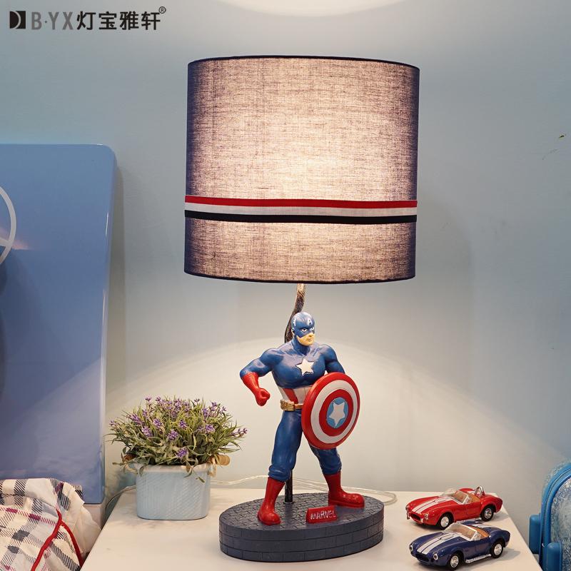 头创意美式简约现代卡通小台灯