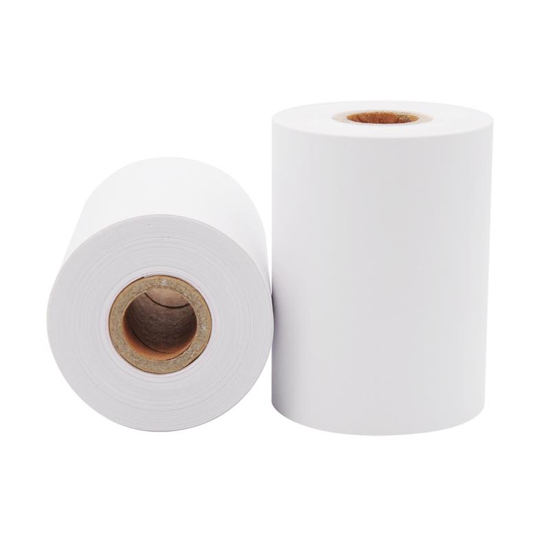 单联针式打印纸75 60单层收银纸超市收款小票据纸 75x60mm120卷/箱