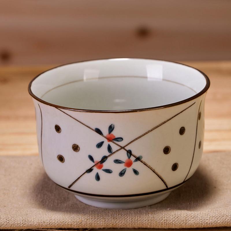 碗单个吃饭景德镇日式釉下彩陶瓷碗餐具套装小米饭碗饭碗家用汤碗