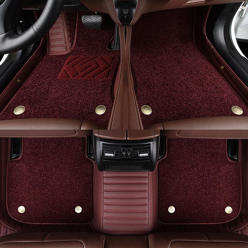 红旗HS5脚垫h5HS7h7EHS3新能源汽车h9专用真皮全包围地垫20款装饰