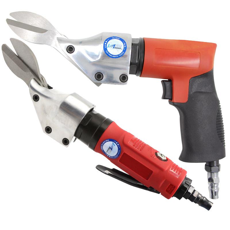 百马ST-810直式气动剪刀铁皮剪铝皮剪不锈钢板金属气剪筛网剪