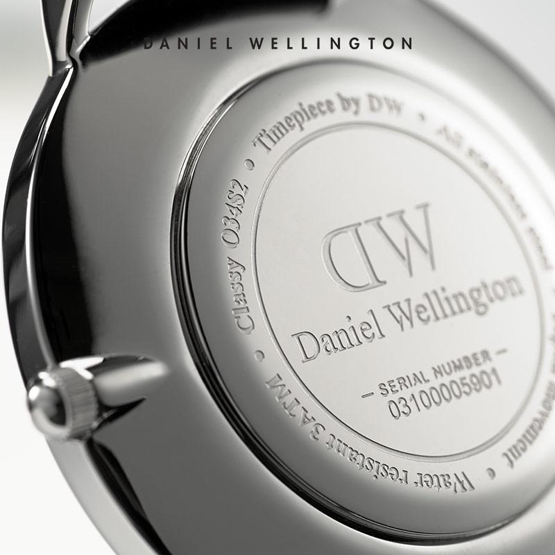 女士手表石英表 34mm 手表女 DW 丹尼尔惠灵顿 抢先加购 11.11