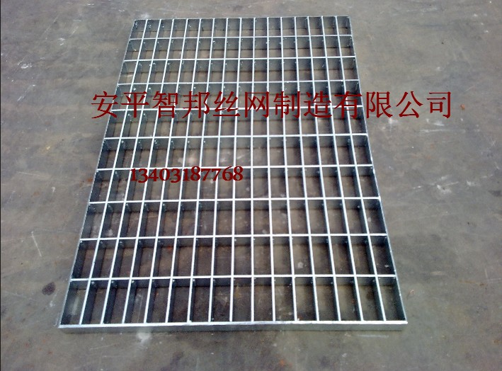 厂家直销热镀锌钢格栅板沟盖钢格栅洗车格栅踏步板楼梯钢格板