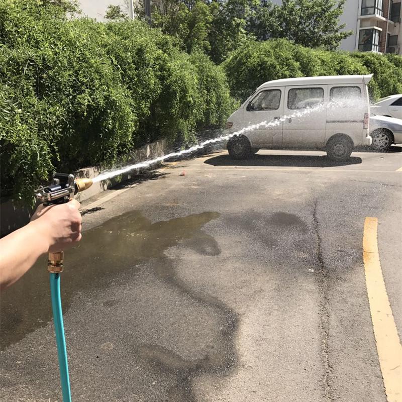 洗车水枪高压洗车水带水管软管洗车工具汽车清洁浇花管家用喷水抢