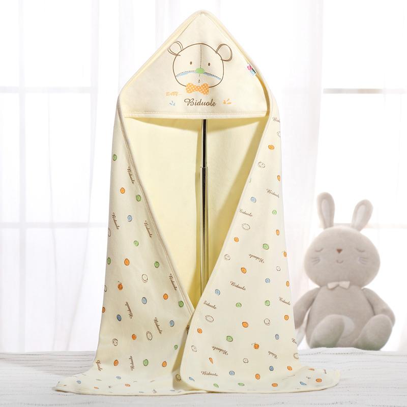 新生兒包被純棉初生嬰兒抱被春秋抱毯春夏季薄款被子包巾寶寶用品