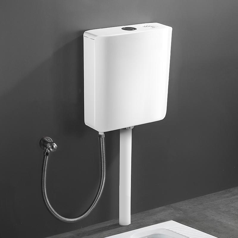 肯勒厕所马桶蹲便器节能卫生间冲水箱蹲便家用抽水挂墙式蹲坑水箱