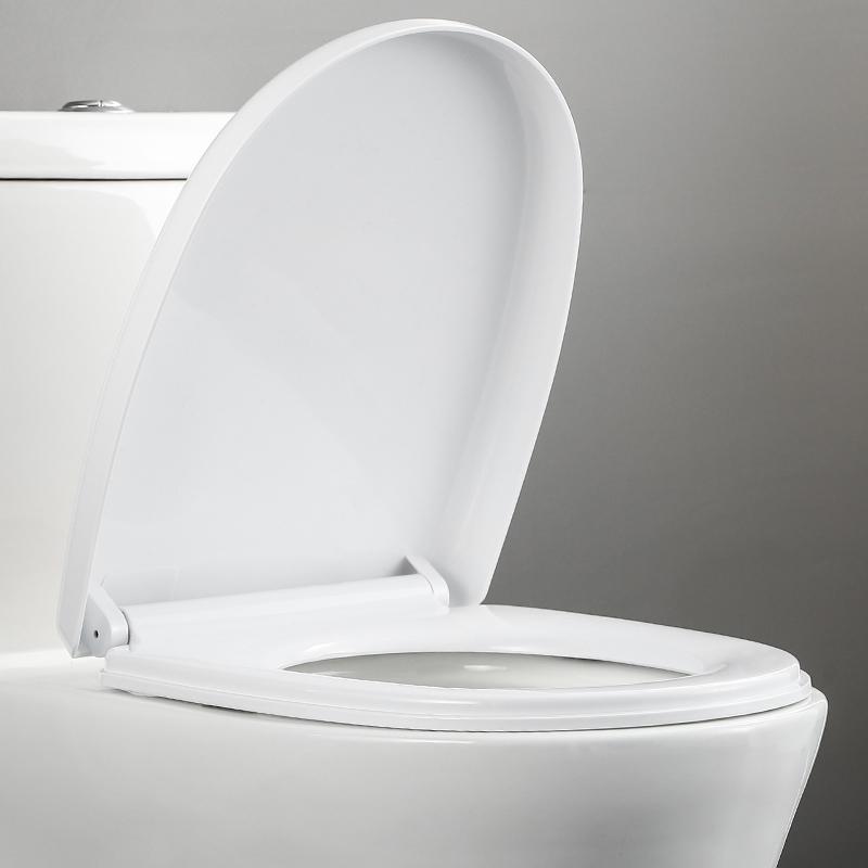 厕所板老式马桶盖子缓降家用通用加厚坐便盖马桶圈坐便器盖板配件