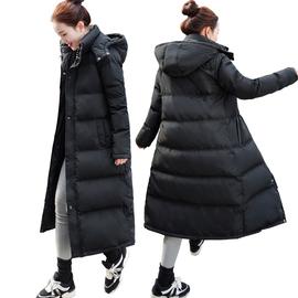 梵慕斯加长款羽绒服女过膝超长加厚韩国版宽松户外套大码冬装新款