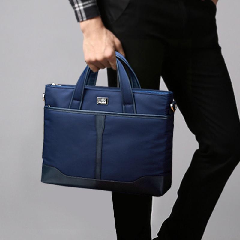 蘋果華碩惠普華為膝上型電腦包男13.3/14/15.6寸13商務單肩手提包