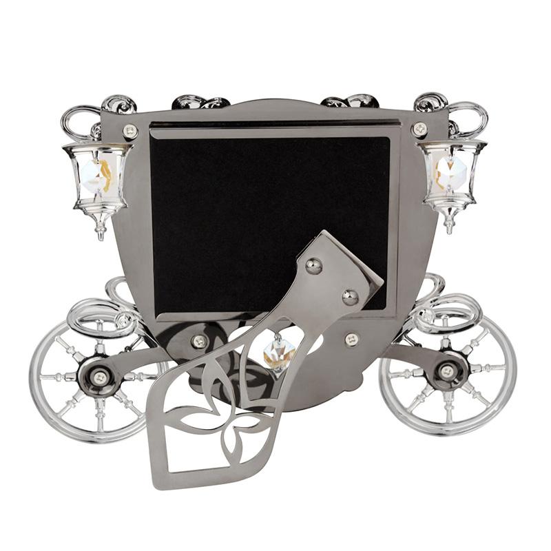 生日结婚礼物 水晶婚车相框 CRYSTOCRAFT 香港
