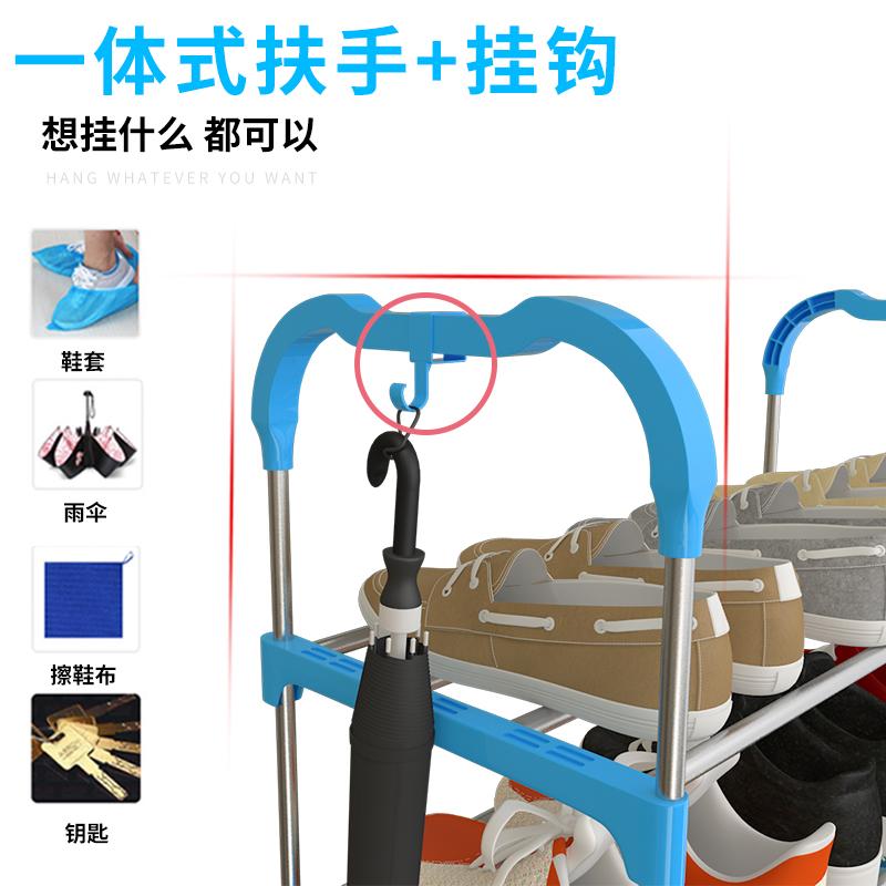 简易鞋架子多层省空间门口小鞋柜经济型防尘收纳宿舍女家用置物架