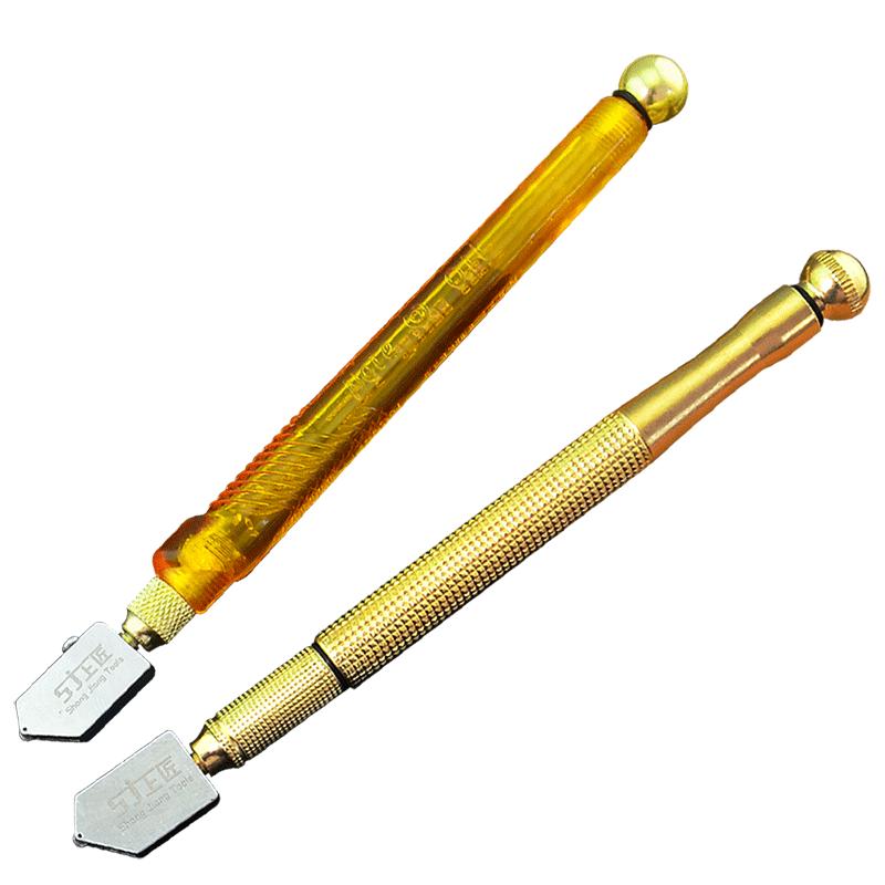上匠工具滚轮式玻璃刀3-15mm厚玻璃金刚石瓷砖刀 刀轮玻璃划刀