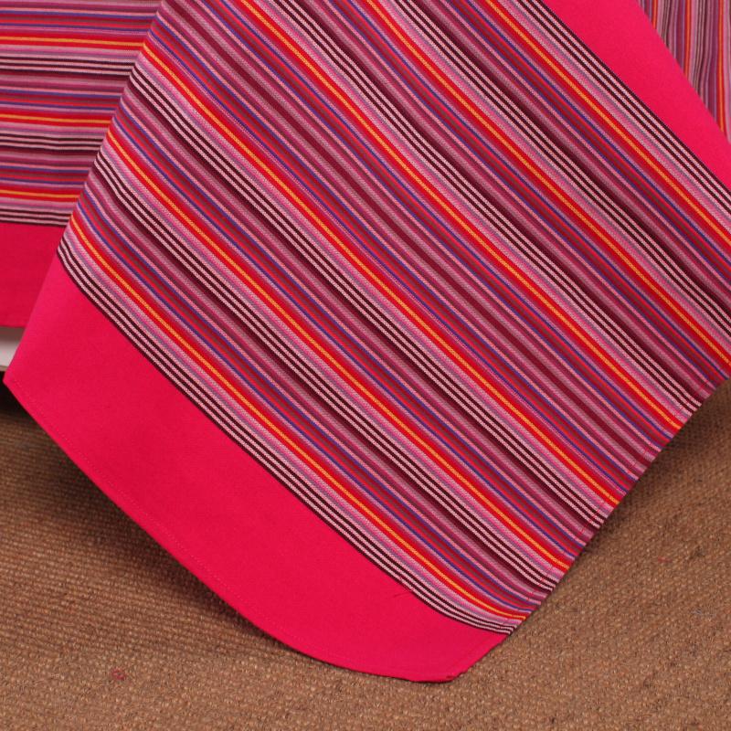 素韵老粗布四件套被套婚庆现代简约床单4件套1.8m2.0米床上用品