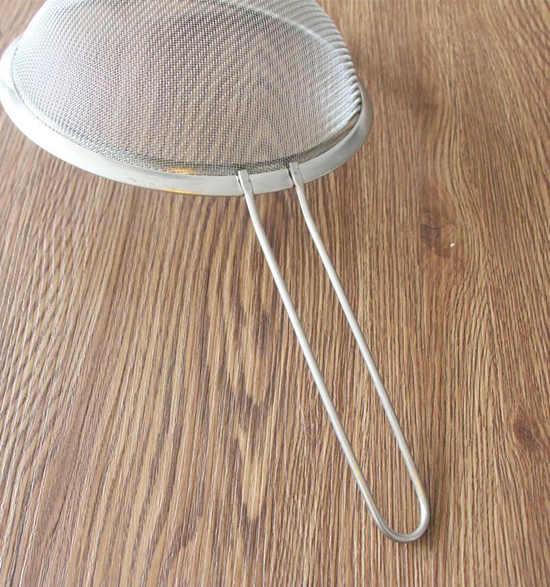 不锈钢过滤网密果汁豆浆筛油渣麻辣烫隔油勺捞勺漏网大漏勺捞面勺