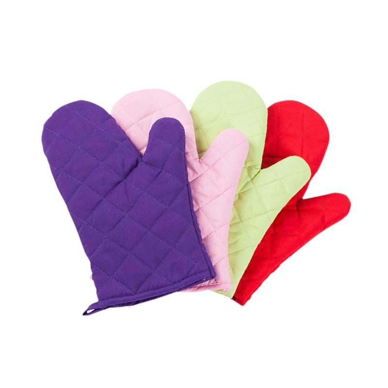 防烫手套烤箱手套厨房烘焙手套 加厚实耐高温 微波炉手套隔热手套