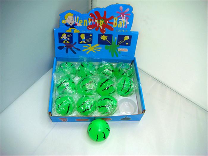 地摊热卖摔不烂发泄球水猪头整蛊搞怪儿童玩具抖音同款厂家愚人节