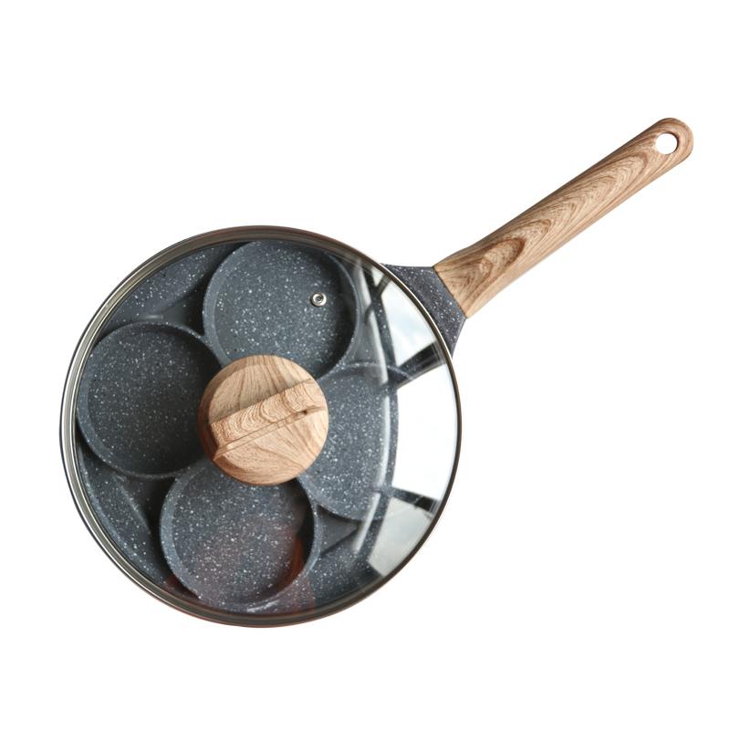 煎鸡蛋汉堡机蛋饺锅不粘小平底家用煎锅早餐煎饼锅煎蛋锅神器模具