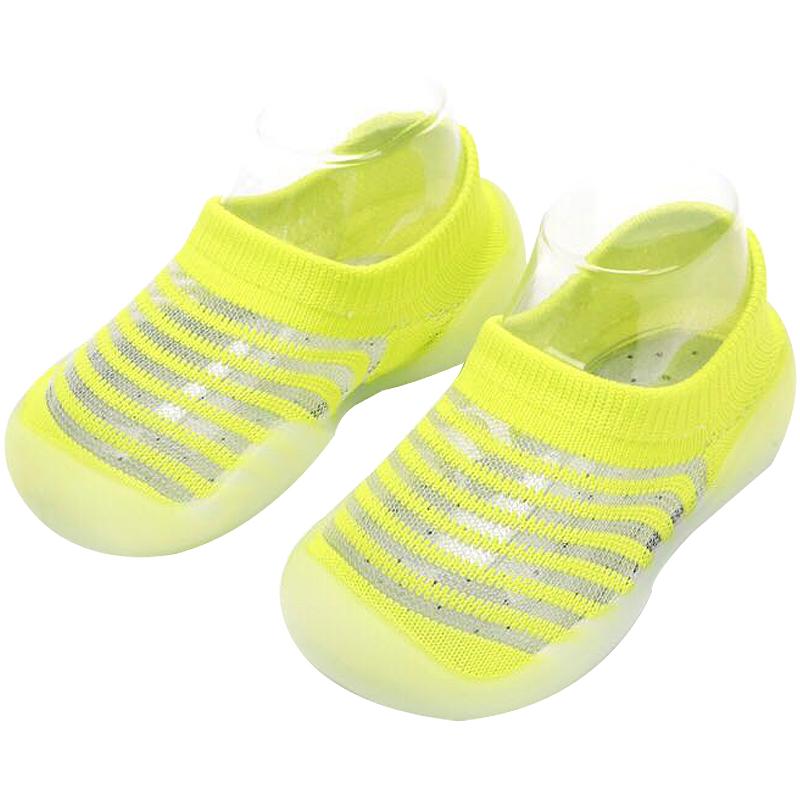 宝宝凉鞋夏季儿童家居软底室内幼儿婴儿透气网面地板袜春秋学步鞋