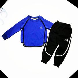 童装春装宝宝套装男童套装儿童春秋款运动套小孩子纯棉韩版两件套
