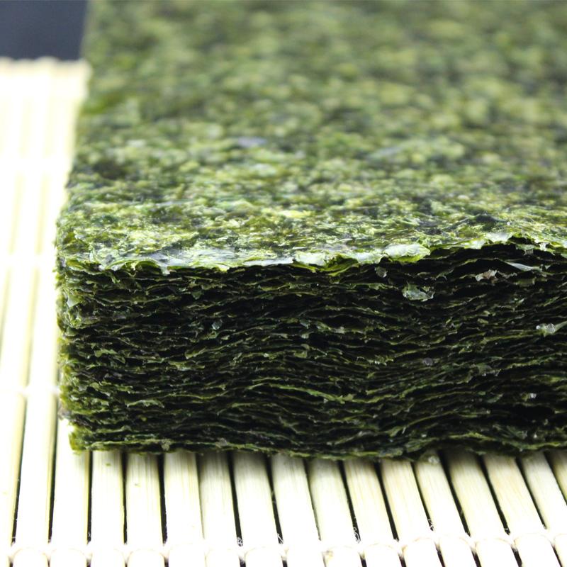 寿司专用海苔50张做紫菜包饭工具套装材料食材原味烤大片卷可即食