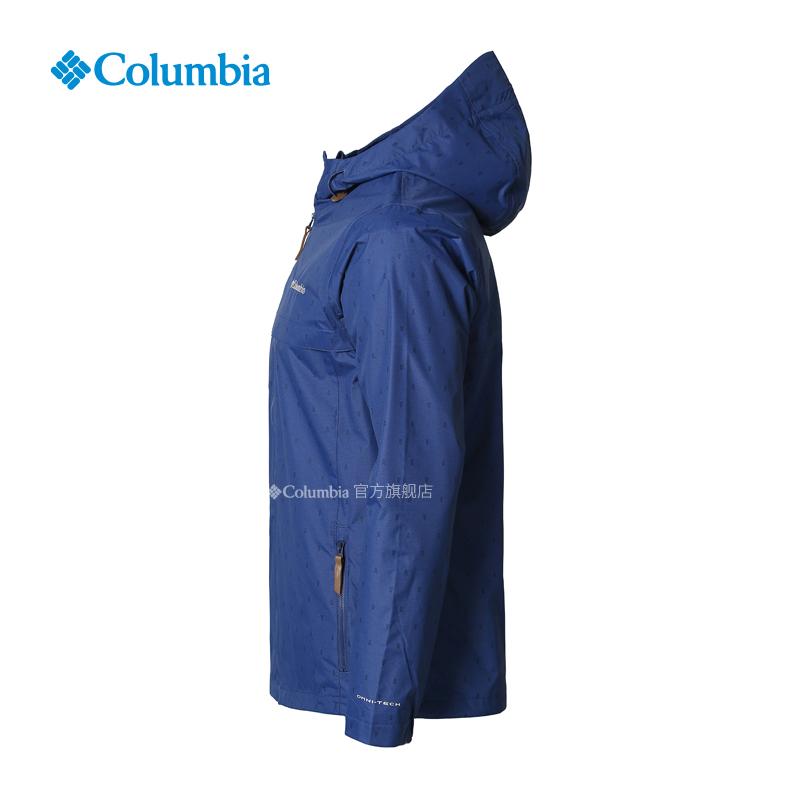 WO0050 春夏男款休闲系列奥米防水冲锋衣 19 哥伦比亚户外 Columbia