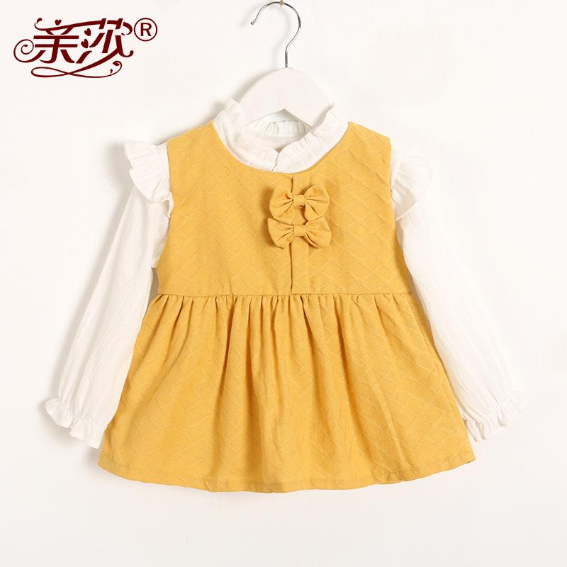 【两件套】春秋款女童套装秋季女童裙装两件套小童女宝宝两件套裙