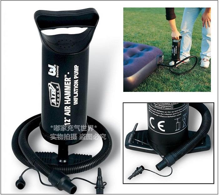 打气筒真空压缩袋充放两用电动气泵 电泵220V 可充充气床 游泳池