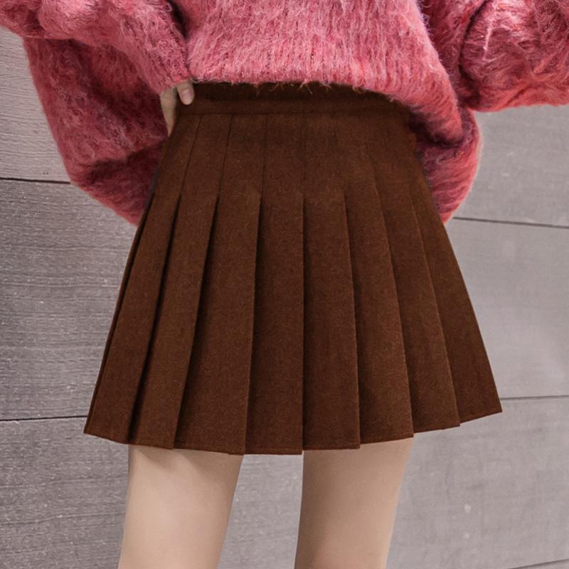 【芊羽蓓】百褶短裙半身裙