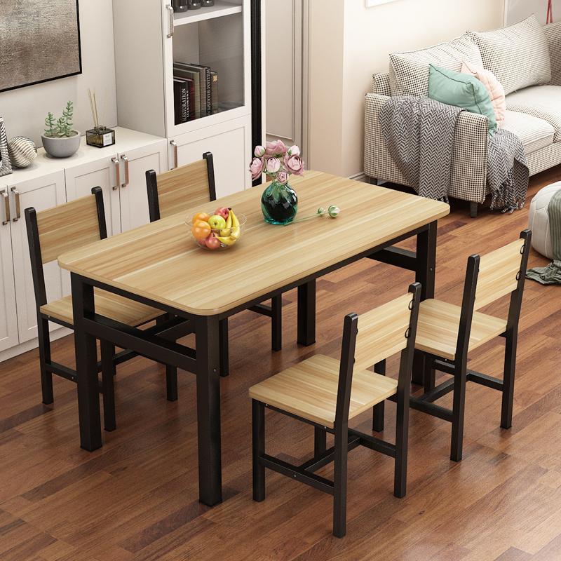 餐小吃店专用餐馆桌子